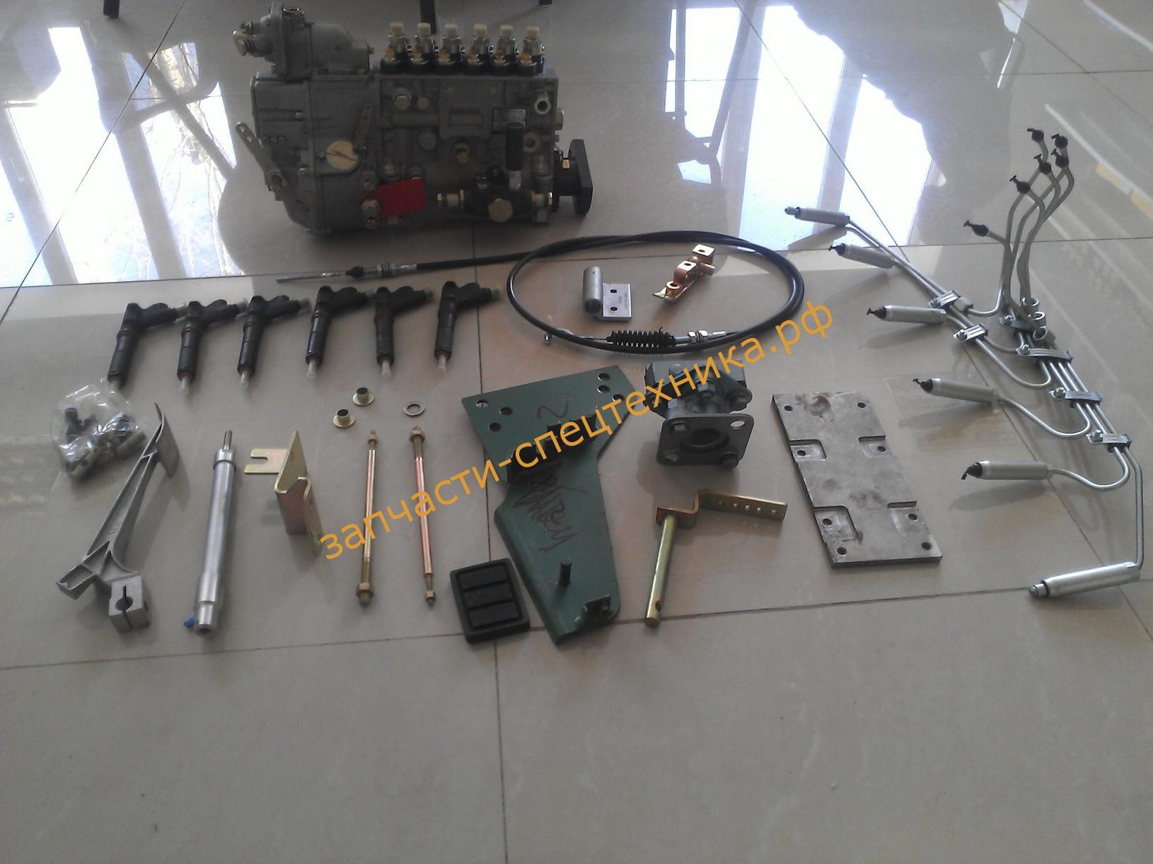 Комплект переоборудования Shacman-Shaanxi WP12 (420 л.с.)